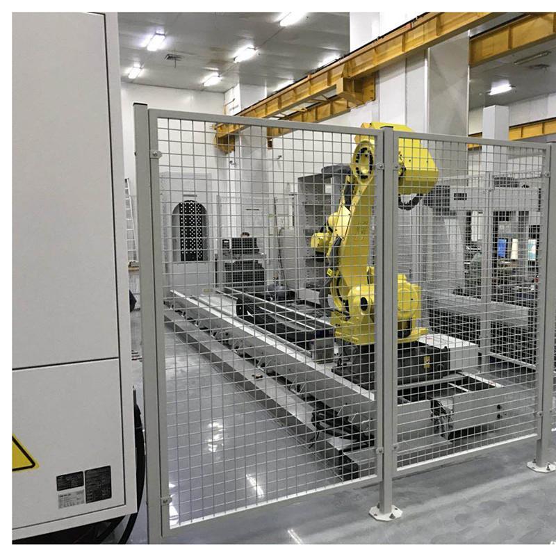 工业机器人外围料仓设备4