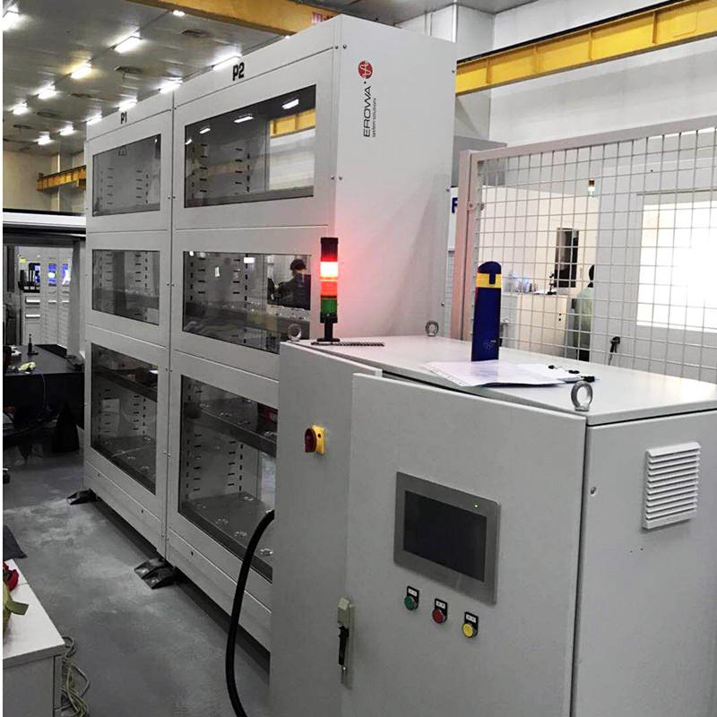 工业机器人外围料仓设备5