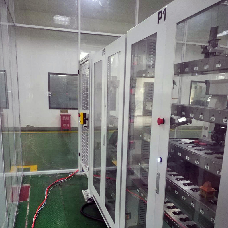 工业机器人外围料仓设备6